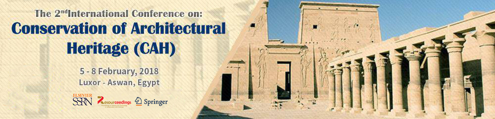 Conservation of Architectural Heritage (CAH) – 2nd Edition  Image