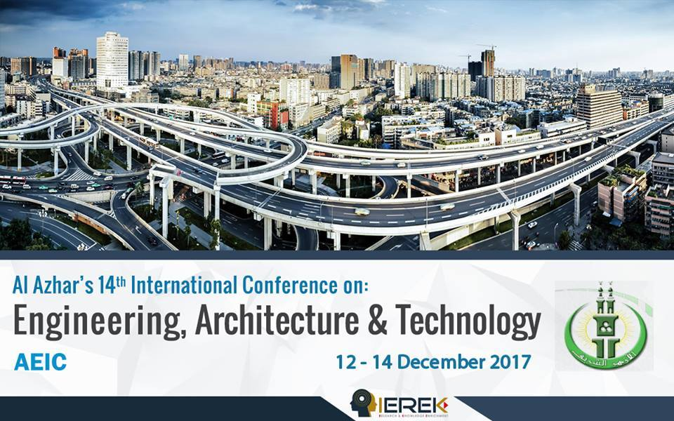 Al Azhar's 14th International Conference on: Engineering, Architecture and Technology Image