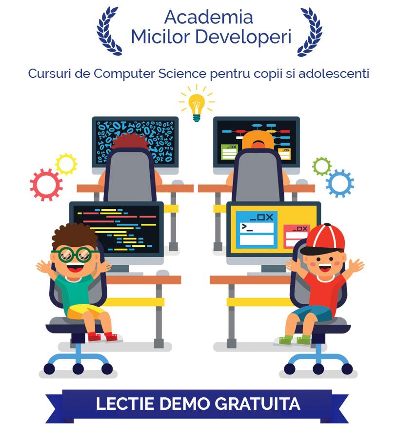 Seminar de programare software pentru copii si adolescenti Image