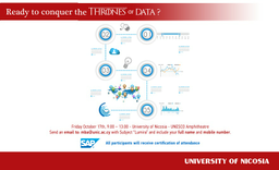 Ready to conquer the Thrones of Data? Image